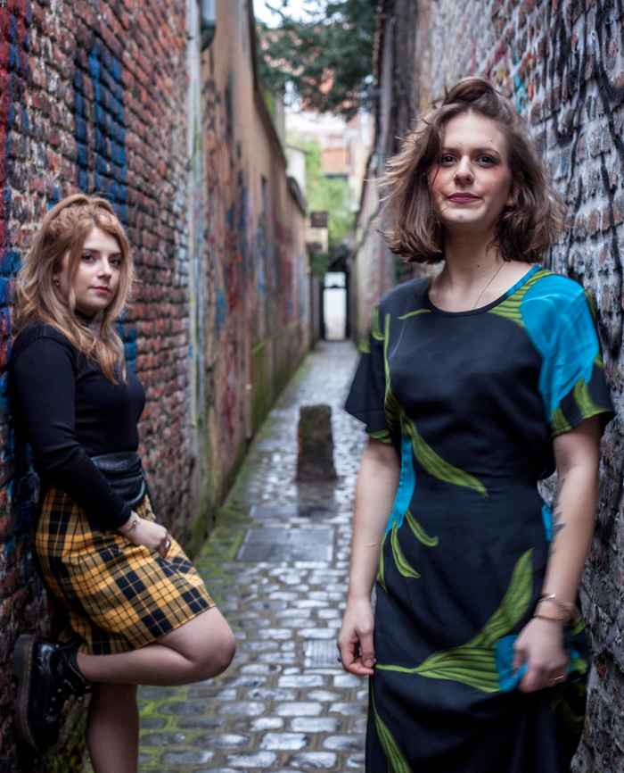 Shooting rock and fripe vintage, alley in Lille